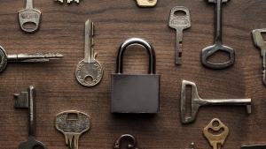 locksmith Montreal key board